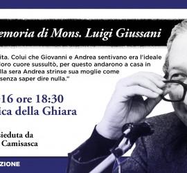invito Messa mons. Giussani